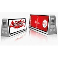 Buy cheap Digital GPS / WIFI Taxi Top Advertising / 5mm bus led display boards from wholesalers