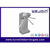 Buy cheap Waist Height Electronic Turnstile Barrier Gate Bi Directional Passing With Brush DC Motor from wholesalers
