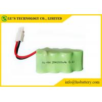 Buy cheap 1.2V Nickel Metal Hydride Battery NIMH Battery Pack 8.4V 1000mah from wholesalers