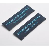 Buy cheap Custom Logo Woven Neck Labels Pattern Brand Clothing Garment Tags And Labels from wholesalers