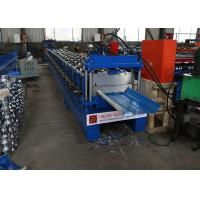 Buy cheap Standing Seam Roof Roll Forming Machine For Nail Strip Snap Lock Panel from wholesalers