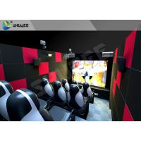 Buy cheap Customized 5D Movie Theater Ocean park 5D Motion Cinema Arc Screen Luxury Chairs from wholesalers