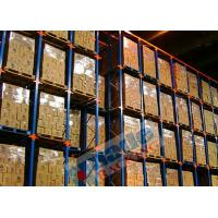 Buy cheap Blue Orange Material Handling Racks Drive Through Racking For Cold Storage from wholesalers