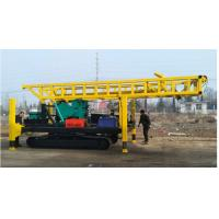 Buy cheap Crawler Chassis Rotary Water Drilling Rig With 2 Sets Hoist 8.6m Height Tower from wholesalers