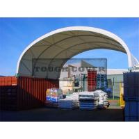 Buy cheap 8m wide,Shipping Container Shelter,container tent,Fabric structures from wholesalers