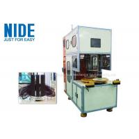 Buy cheap Large Stator Coil Winding Machine Automatic Table Fan Motor Plc Control from wholesalers
