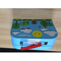 Buy cheap fine pur handmade handle gift box for xmas gift children box gift party gift from wholesalers