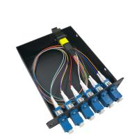 Buy cheap 12 Core MPO MTP Ber Optic Cassette Module Single Mode For 19 1U Distribution Box from wholesalers