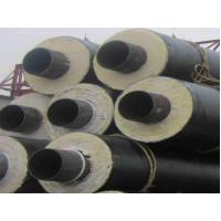 Buy cheap Black PU Foam Thermal Insulated Steel Pipe A53 A , B For Petroleum , Thick Wall from wholesalers