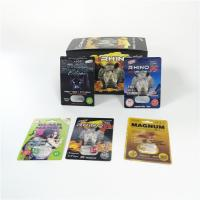 Buy cheap Sexual Enhancement Pills Blister Card Packaging Rhino Series For Powder Sex Capsule Pack from wholesalers
