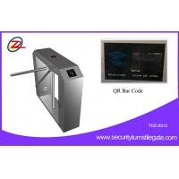 Electronic Ticket Managment QR Code Semi-Auto Tripod Turnstile Gate for Scenic Spot Manufactures