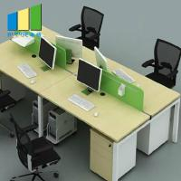 Buy cheap Customized Color Office Furniture Partitions / Modular Office Cubicles from wholesalers