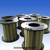 Buy cheap P3, P5, P10, P20, DIN125 Brass EDM wire used on wire-cut machine,Φ0.3mm~0.1mm from wholesalers