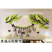 Buy cheap New design large family tree acrylic wall decal and sticker wall art DIY Photo gallery frame decor sticker from wholesalers