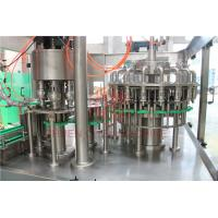 Buy cheap 8000BPH Plastic Bottle Filling Machine , Rinsing Filling Capping Machine Food Grade from wholesalers
