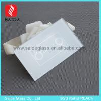 Buy cheap 4mm Square Glass Touch Panel for Dimmer Light Switch,Colored Lamp Touch Glass Switch Panel from wholesalers