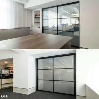 Buy cheap electric roller shade for sliding glass doors EB GLASS from wholesalers