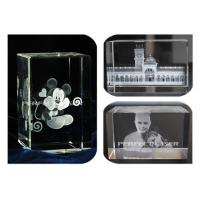 Buy cheap Crystal Portraits 3D Laser Engraving Equipment High Speed Air Cooling Stable from wholesalers