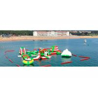 Buy cheap Customized Kids Giant Inflatable Water Park for Sea / Lake / Ocean from wholesalers