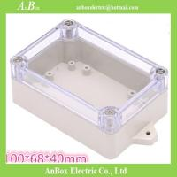 100*68*40mm IP65 electrical clear wall mount electronic design case Manufactures