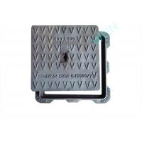 Buy cheap SGS Ductile Iron Manhole Cover Smooth Surface For Industry / Construction from wholesalers