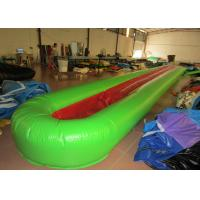Buy cheap Inflatable Water Playground , Long Stripes Inflatable Single Water Slide 12 X 1.6m from wholesalers