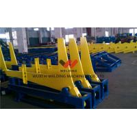 90° Hydraulic Overturning Rack For T / H Beam Production Line / Welding Production Line Transport Manufactures