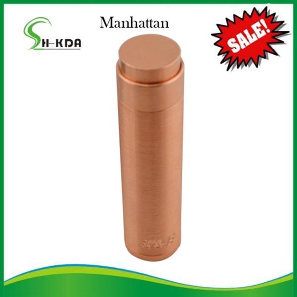 Quality New Mechanical mod electronic cigarette Manhattan mod ,Manhattan clone,copper Manhattan clone Vapetech new arrival !!! for sale
