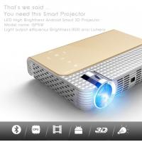 Buy cheap simplebeamer GP5W,1280x800Pixels 3D pocket Projector with Android 4.44 OS,wifi Smart,DLP,Bluetooth from wholesalers