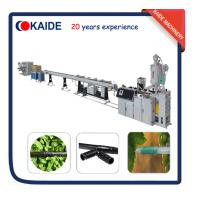 Buy cheap Plastic Pipe Extrusion Line for PE Drip Irrigation Pipe Production line KAIDE factory from wholesalers