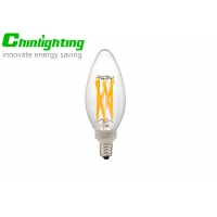 Buy cheap E12 C35 C32 Filament Type B Decorative Candelabra Bulbs from wholesalers