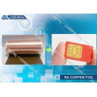 Buy cheap Electro - Deposited PCB Copper Foil Sheet For FPC And FCCL Fine Circuit Application product