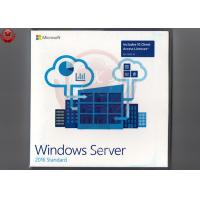 Buy cheap Online Activate Windows Server 2016 Standard Product Key Sticker+DVD Medium from wholesalers