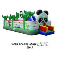 Buy cheap Panda Shaking Stage Inflatable Bouncer Playground Equipment For Kids Playing Fun from wholesalers