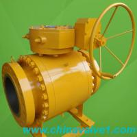 Buy cheap Cast steel trunnion mounted ball valve from wholesalers