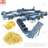 Buy cheap Hot Sale Electric Heating Fully Automatic Potato Chips Production Line from wholesalers
