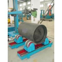 2T Manual Bolt Shifting Welding Turning Rolls / Self Aligning Rotators for Pipe Manufactures
