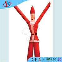 Buy cheap Blue Inflatable Balloons For Advertising / Giant Inflatable Santa Claus Two Legs from wholesalers