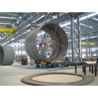 2500mm - 5000mm Dia. Wind Tower Production Line 60T For Power Station Construction