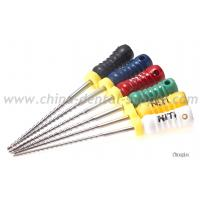 Wholesale Nickel Titanium Rotary Endo Files , Dental H File Endodontics For Endodontic Treatment from china suppliers