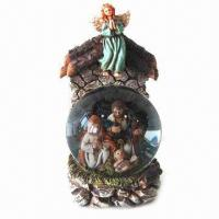Buy cheap Jesus Ball, Jesus Family Scene, Christmas Crafts, Christmas Snowman, Suitable for Decorations from wholesalers