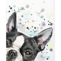 Buy cheap Design Package Canvas Prints Wall Art Cute Dog , Home Decor Canvas Wall Art from wholesalers