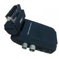 Buy cheap Mini Scart MPEG4 DVB-T Receiver from wholesalers