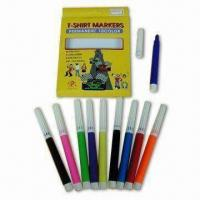 Buy cheap Permanent Fabric Markers, Available in 10 Colors from wholesalers