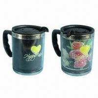 Buy cheap Popular 400ml stainless steel color-changing gift mugs from wholesalers