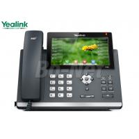 Buy cheap Video Conference Cisco Voip Phone System , Cisco Wireless Ip Phone Yealink SIP-T48G T4 from wholesalers