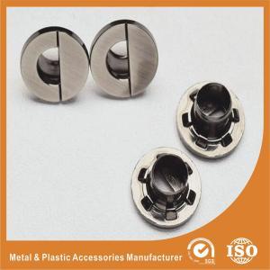 Wholesale 13.5MM Half North Shape Eyelet Plating Nickle Free Brushed Gunmetal Zinc Eyelets from china suppliers