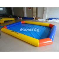 Buy cheap CE Approved Mini Inflatable Water Swimming Pool Above Ground Salt Water Pool from wholesalers