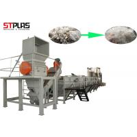 Buy cheap Large Capacity Plastic PP PE Film Washing Line Plant For Waste Films Recycling from wholesalers