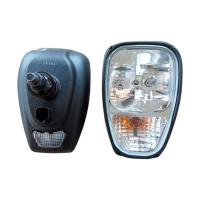 Buy cheap Loader Excavator JCB Replacement Parts Headlight Assembly 18 Months Warranty from wholesalers